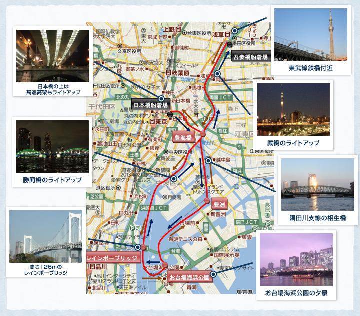 隅田川お台場王道コース