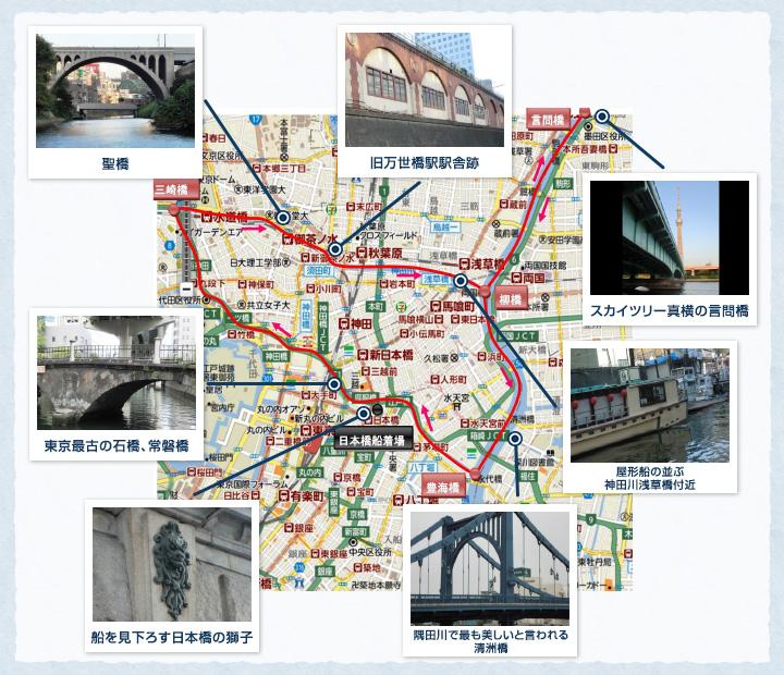神田川三角コース